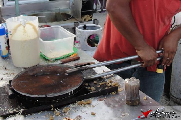 Making Marquesitas in San Pedro