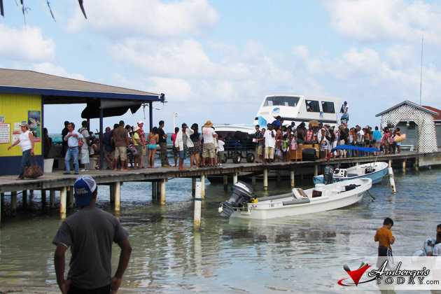 Easter Madness in San Pedro, Belize