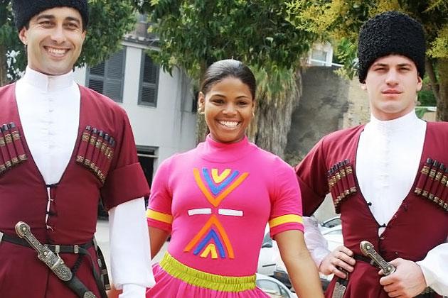 Belize Dance Company at Festival du Sud, Europe