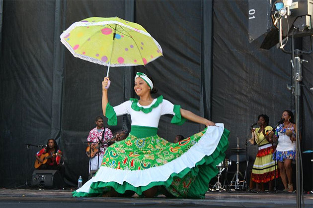 Belize Dance Company at Festival du Sud, Europe