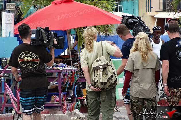 Film Crew in Belize