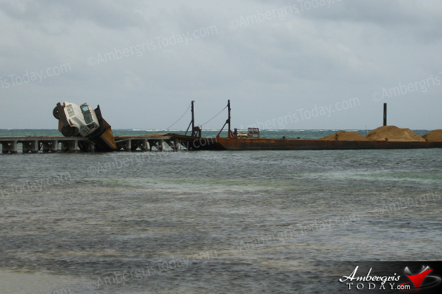 Mishap at North Ambergris Construction Site