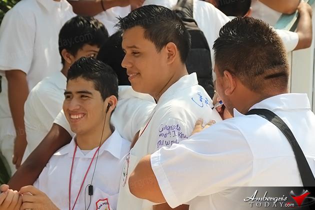 San Pedro High School Uniform Signing