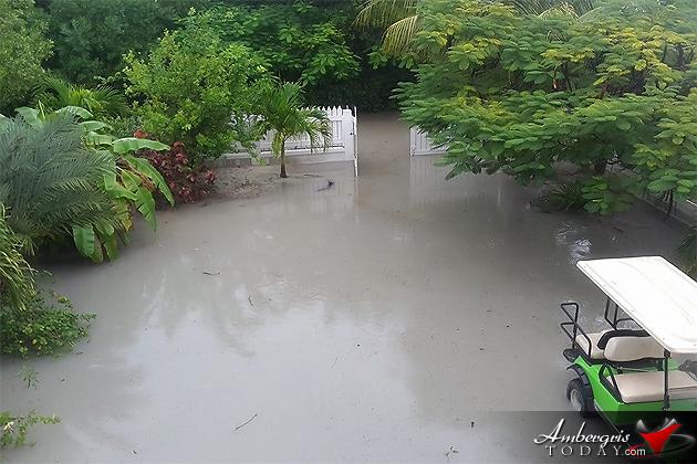 Waterlogged Ambergris Caye Residents Find Ways to Get Around
