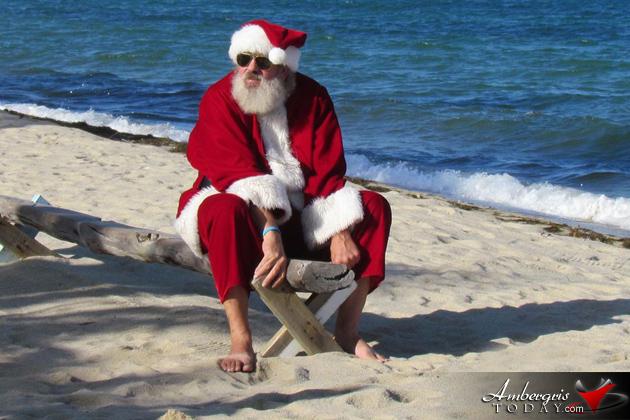 Santa in Belize