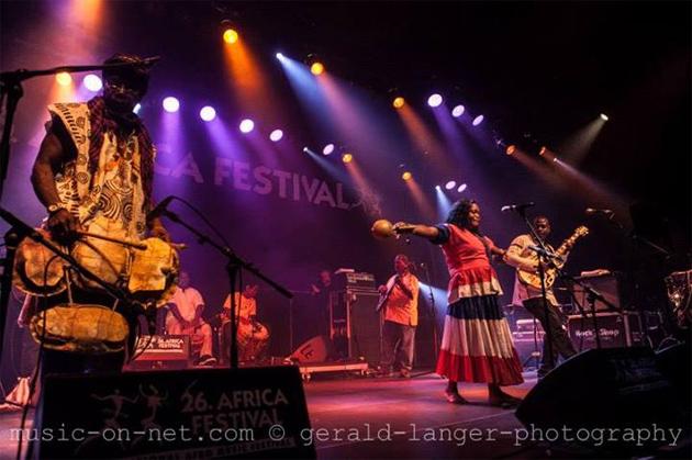 Garifuna Collective of Belize on European Tour