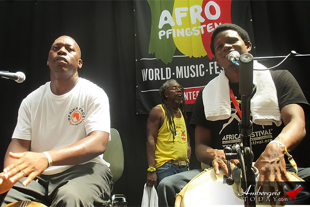 Garifuna Collective of Belize on European Tour