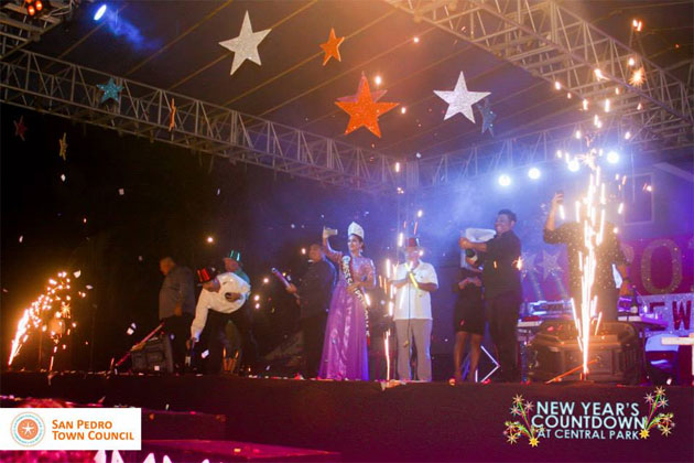 Miss San Pedro Rocks into 2015 New Year Celebrations