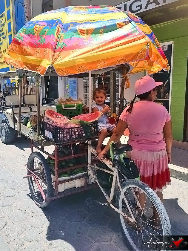 The Cutest Fruit Vendor Ever