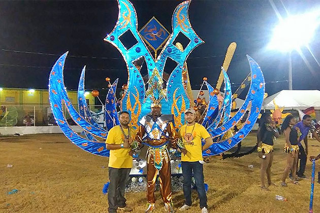 Belize King and Queen of Carnaval Selected