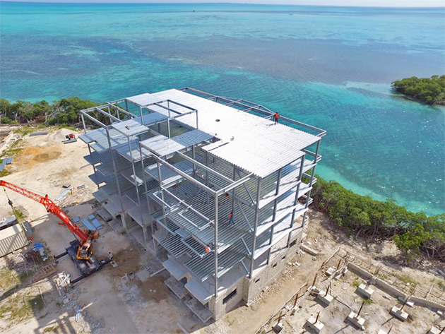 Fantastic New Sea Views Coming to Ambergris Caye - La Sirene Resort & Spa