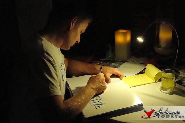 Marius Jovaisa Heavenly Belize Book Signing