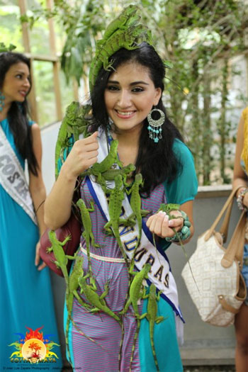 Miss Honduras Costa Maya Celebrates Belizean Birthday