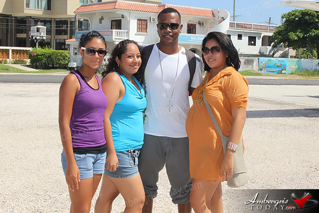 Kevin Lyttle Arrives to San Pedro, Ambergris Caye to perform for the International Costa Maya Festival