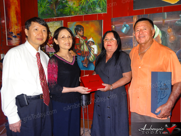Mayor Guerrero and Elvi's Kitchen Host Ambassador of Taiwan
