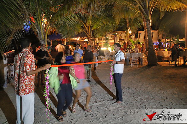 Belize Luxury Resort El Secreto Celebrates with Beach Party