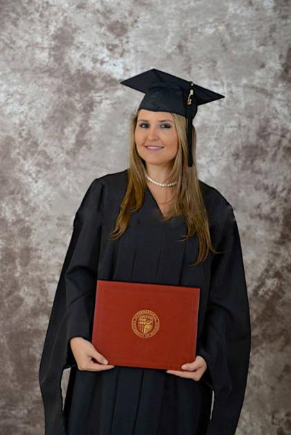 Ambar Ayala Graduates