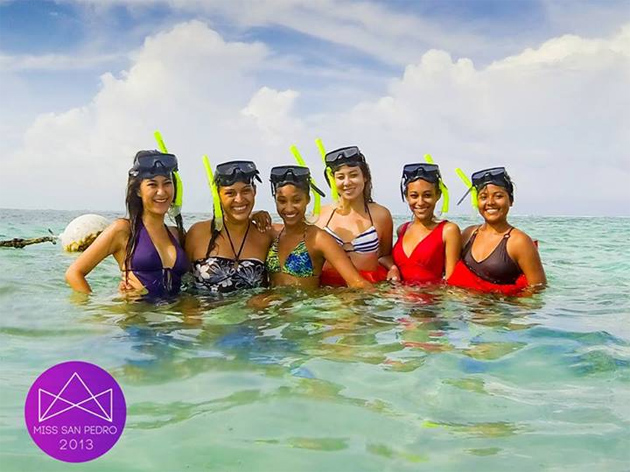 Miss San Pedro Contestants Having fun in the Sun