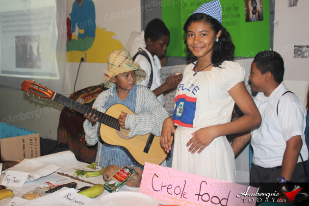 Belizean Culture at its Best at School Presentations