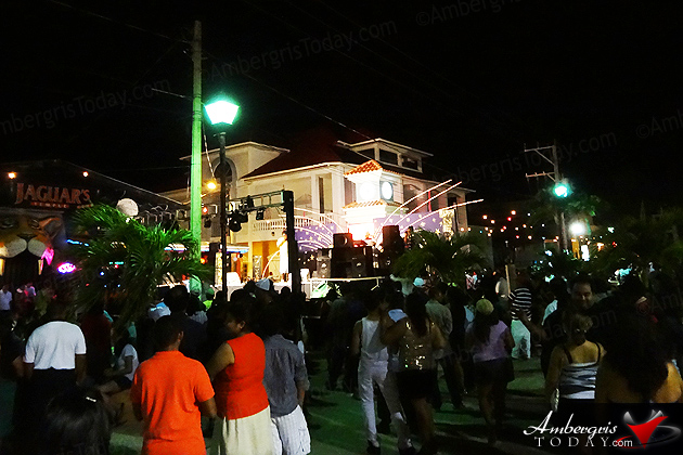 New Years in San Pedro, Belize