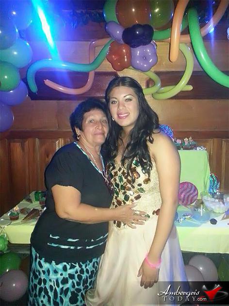 Daniela Salazar Celebrates Quinceaños