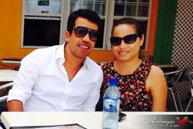 Mexican Footballer Pavel Pardo Visits San Pedro, Ambergris Caye, Belize