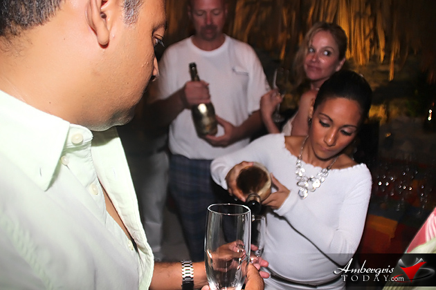 Aji Tapa Bar & Restaurant Celebrates with #1 Champagne in the World