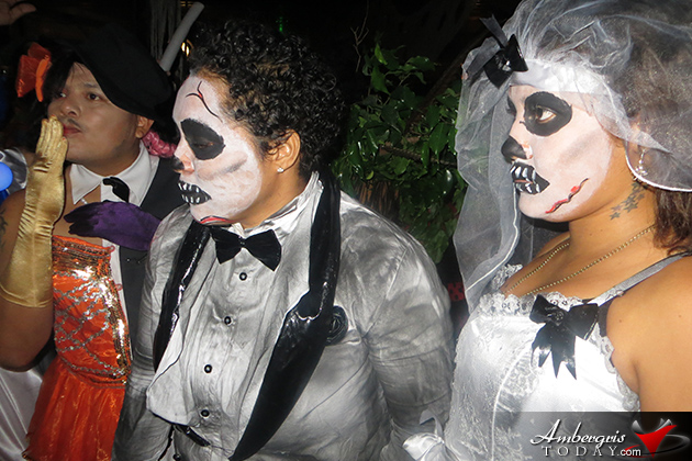 The Biggest Halloween Bash of the Year in Belize at San Pedro Holiday Hotel