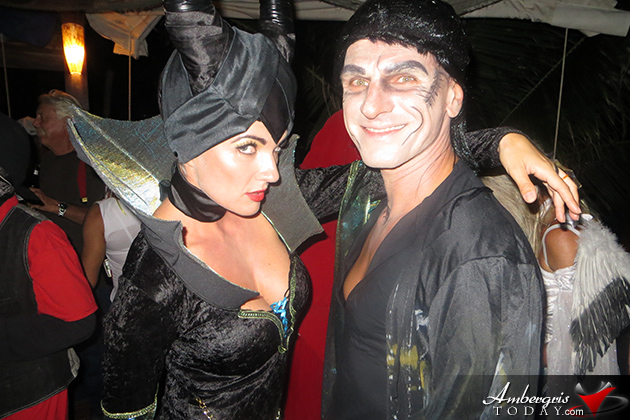 San Pedro Holiday Hotel Halloween costume party