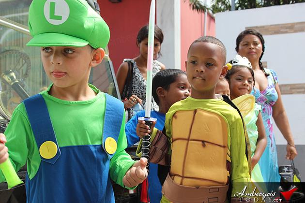 Halloween Trick or Treat Fun in San Pedro