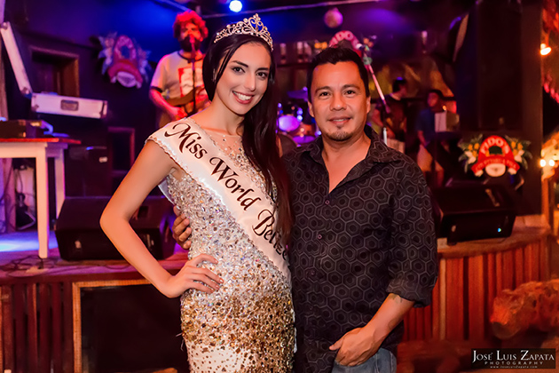 Raquel Badillo Officially Crowned Miss World Belize