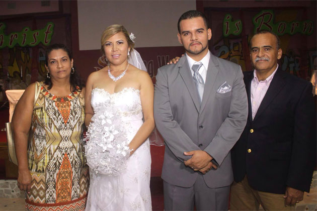 Vanessa Guerrero and Ian Zaldivar nuptials in San Pedro Ambergris Caye Wedding