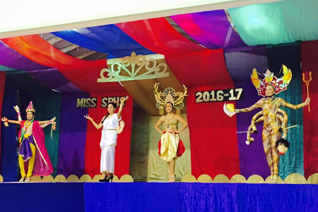 Faith Noel Crowned Miss San Pedro High 2016