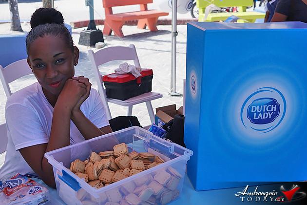 Santiago Castillo Makes World Milk Day Fun for Island Students