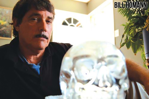 Bill Homann - inherited the crystal skull from Anna Mitchell-Hedges