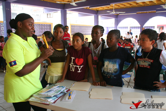 NEMO personnel explain emergency planning to students