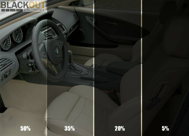 Vehicle Glass Tinting Guide