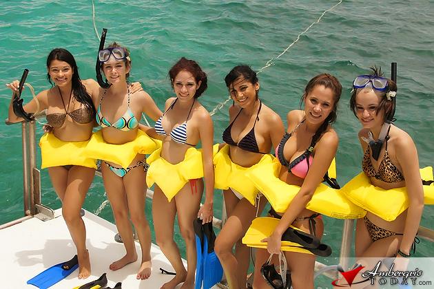 Costa Maya Delegates At Discovery Expeditions Snuba