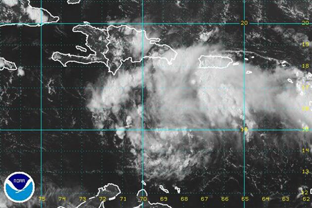 Tropical disturbance Invest 93-L