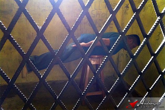 Dennis Alfaro Jail Cell Planking
