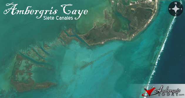 Siete Canales, South Ambergris Caye