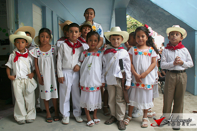 San Pedro Observes Children S Week Ambergris Today