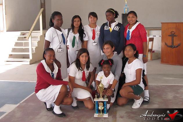 San Pedro High School Female Basketball Team