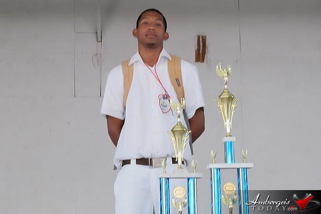 SPHS MVP Charles Richards
