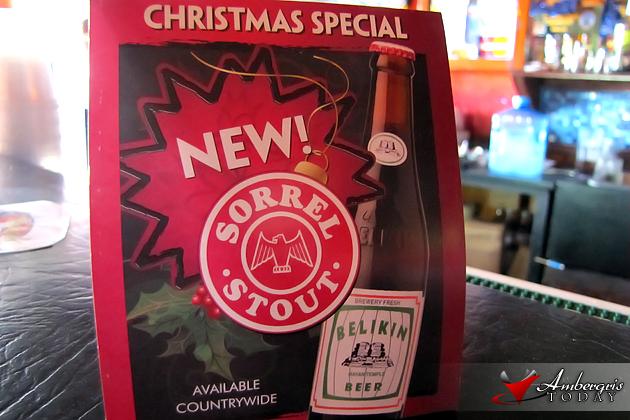 Belikin's Christmas Special Sorrel Stout