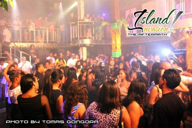 Island Invasion bash at Jaguar's Temple Night Club