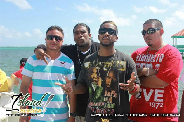Omarion with Island Invasion organizers