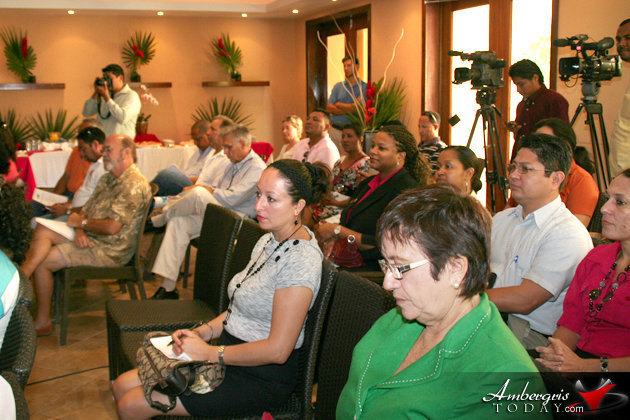 BTBs official announcement of 2011 tourism arrivals at the Phoenix Resort