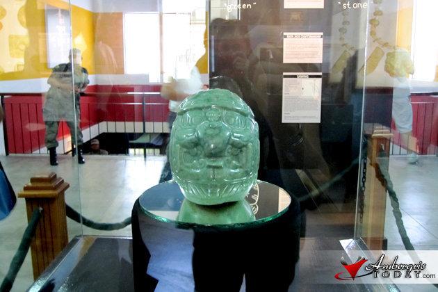National Treasure - Maya Jade Head