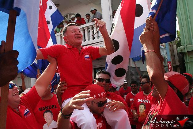 UDP Belize Rural South Standard Bearer -Manuel Heredia Jr.